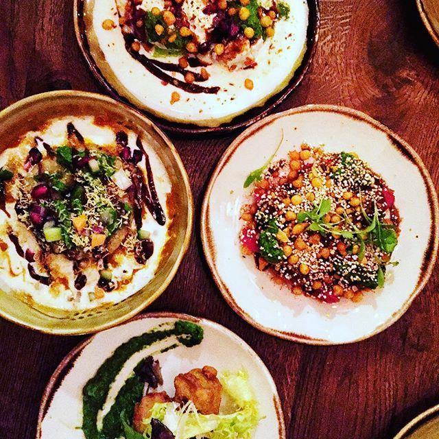 A great way to start your meal at Cinnamon Bazaar, a brilliant selection of #chaats & #snacks #cinnamonbazaar #coventgarden