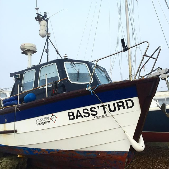 A great name for a #boat mooted on the #rivercrouch I suppose it's a #bassfishingboat - I wonder if you can catch anything else on it?
