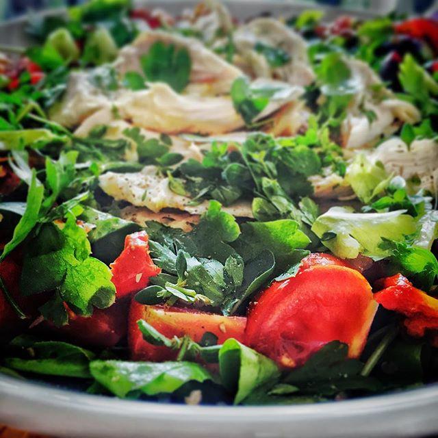 Dinner is looking good tonight #yum yum #mmmmmm #salad
