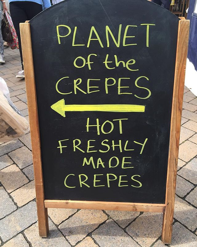 Apes Suzette for me please!  #market #saffron walden #foodblogger #food