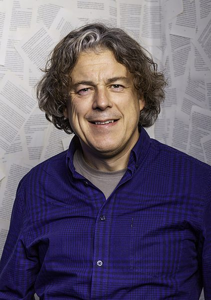 Alan Davies Portrait © Nick Gregan Photographer