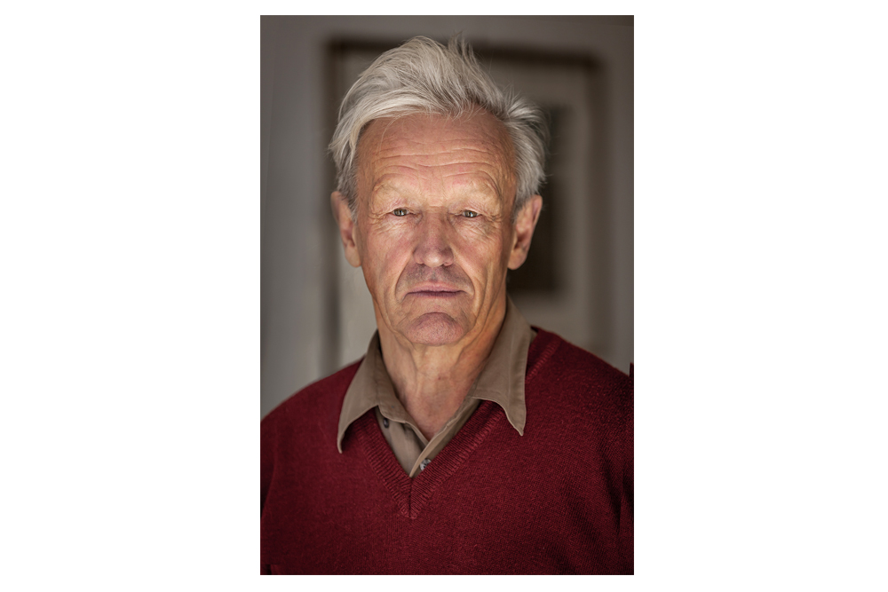 Ledgendary Travel Writer Colin Thuberon by Portrait Photographer in London Nick Gregan
