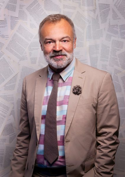 Graham Norton portrait © Nick Gregan Photographer