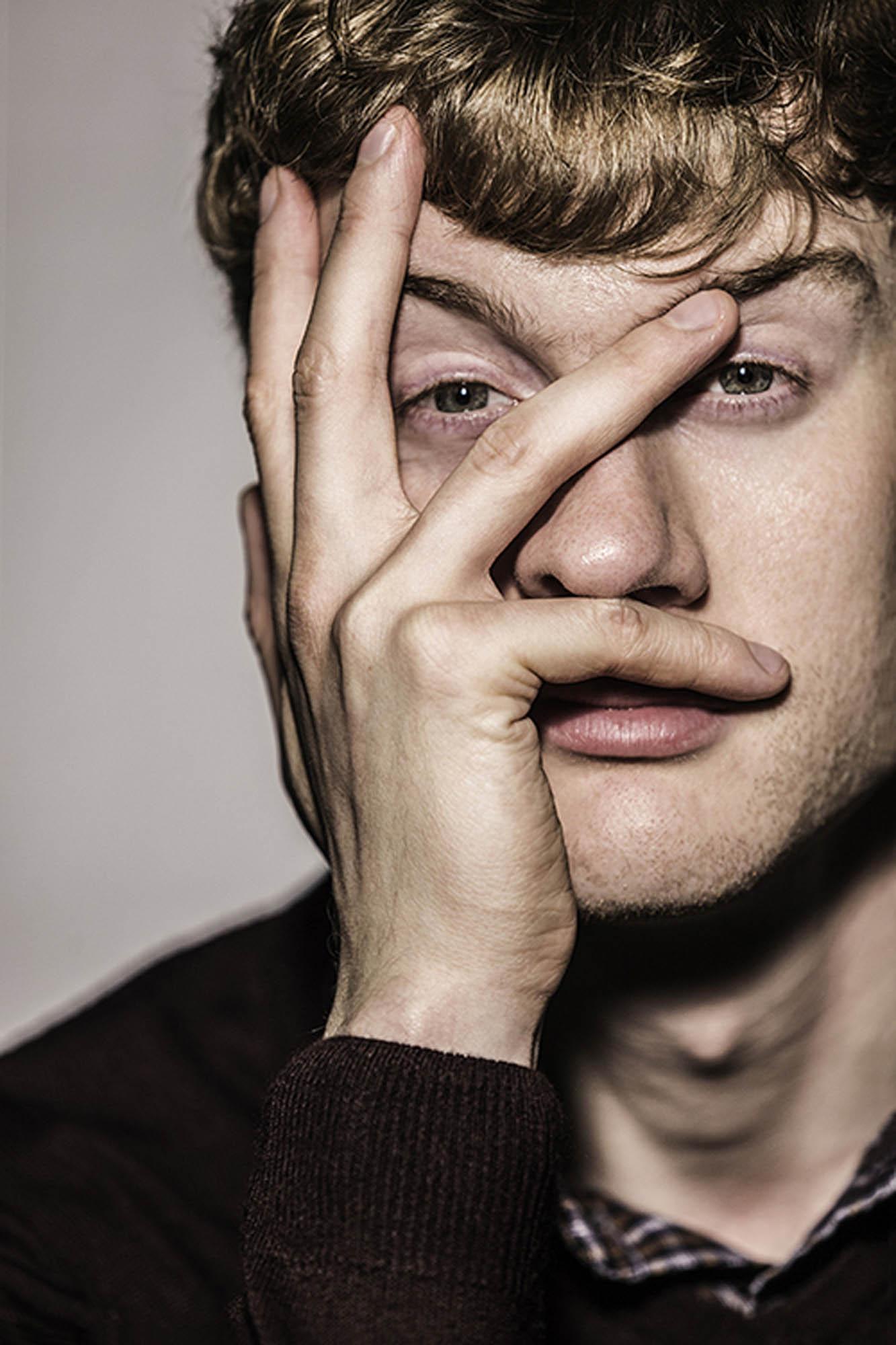 James Acaster Comedian © Nick Gregan Portrait Photography London