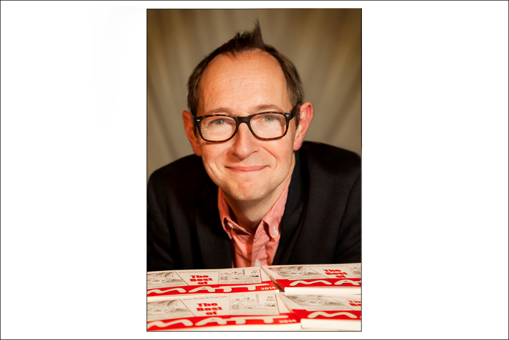 Famous Cartoonist Matt by Portrait Photographer in London Nick Gregan