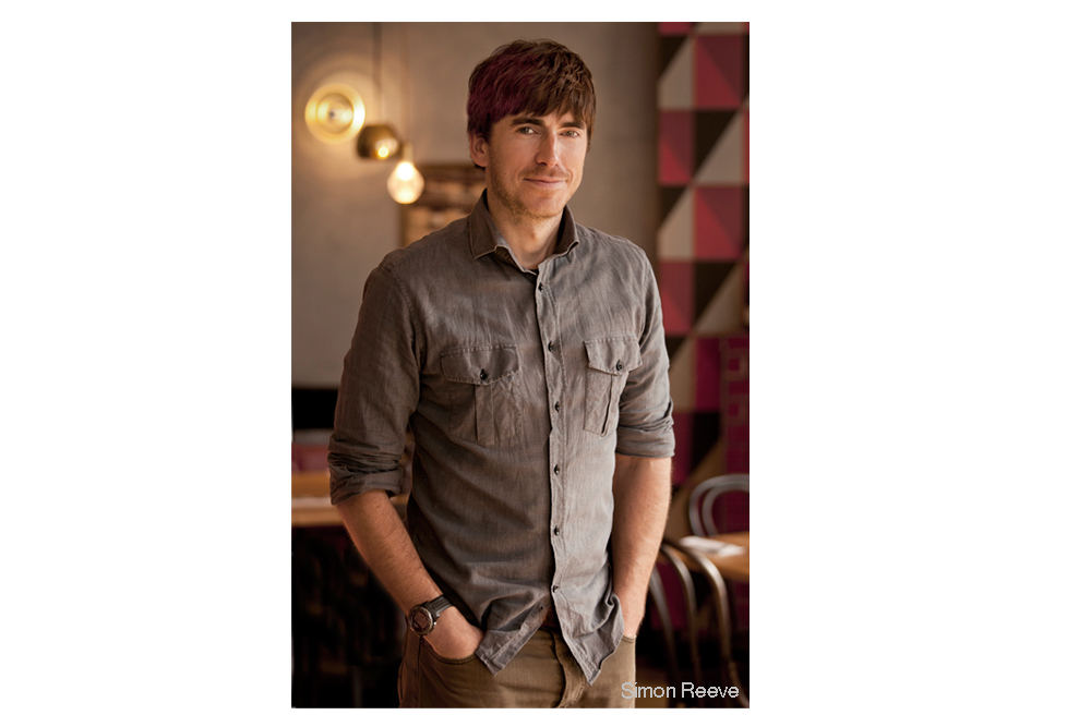 Portrait Photographer in London Nick Gregan photographs Simon Reeve world travellor
