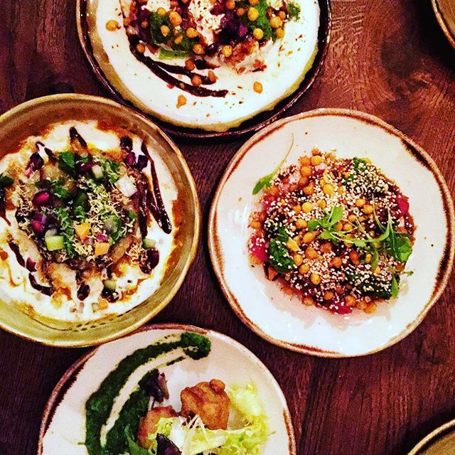 A great way to start your meal at Cinnamon Bazaar, a brilliant selection of &